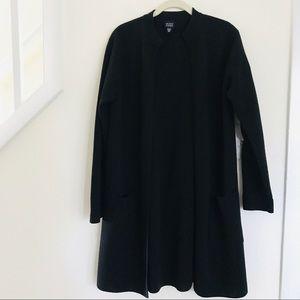 Eileen Fisher Duster Open Long Cardigan Sz Medium